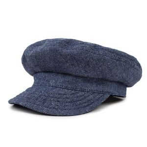Britton Denim Fiddler Cap
